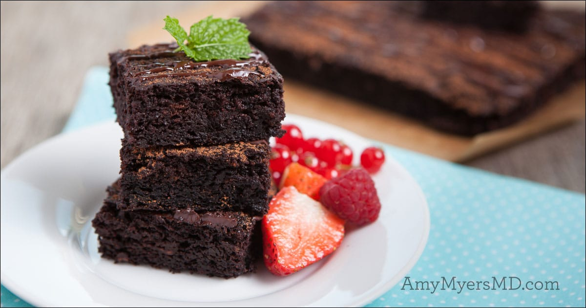 mint chocolate brownies amy myers md