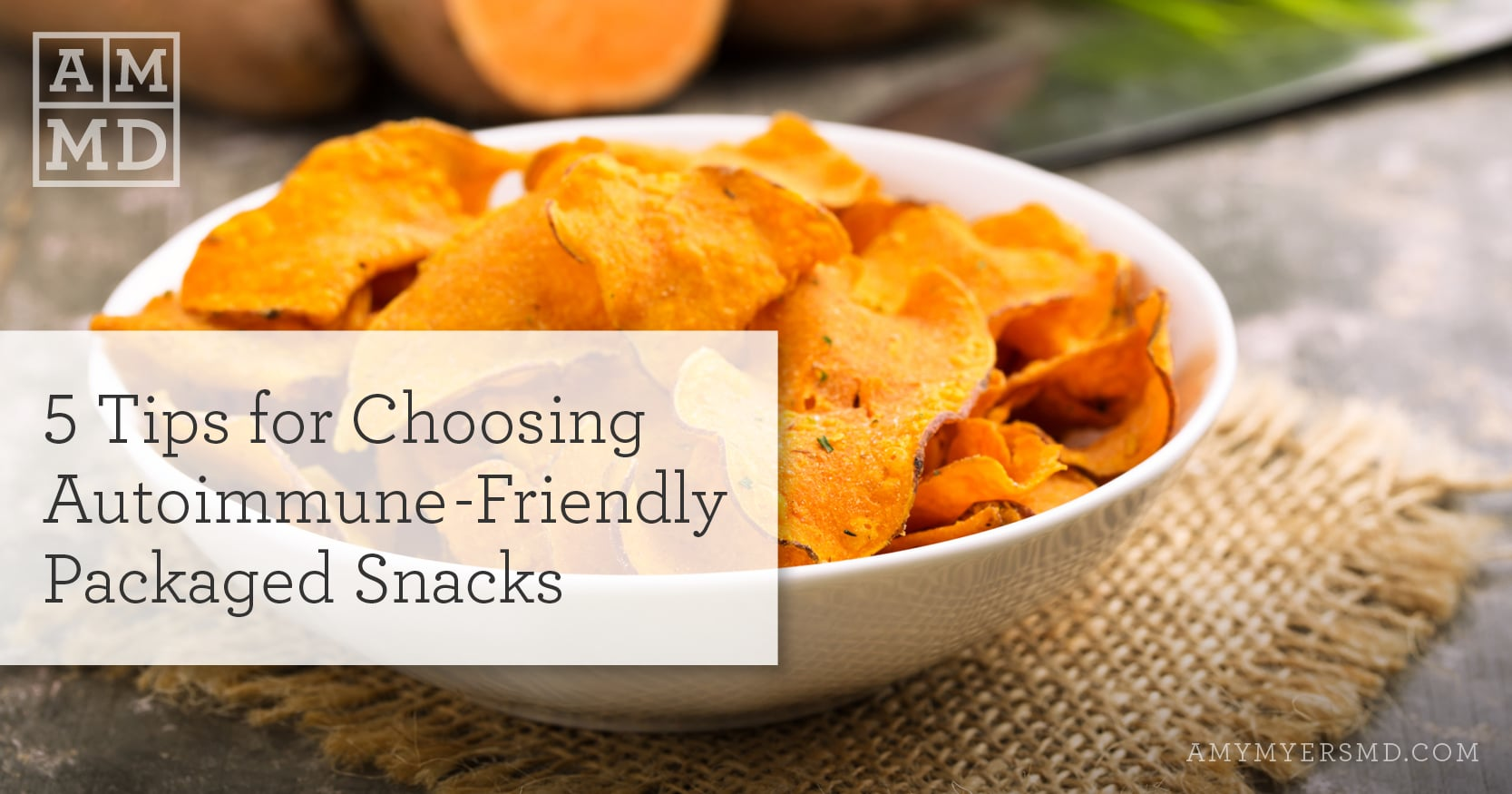 autoimmune-friendly snacks