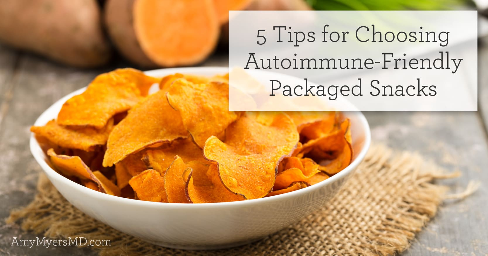 autoimmune-friendly packaged snacks