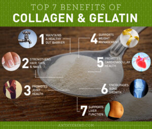 Benefits of Collagen and Gelatin - Infographic - Amy Myers MD