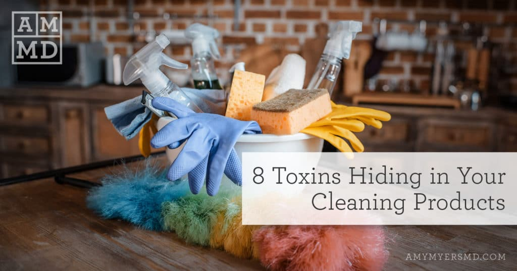 8 Toxins Hiding in Your Cleaning Products