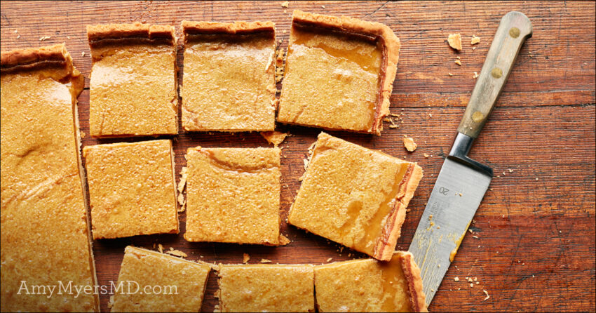 Amazing AIP Lemon Bars