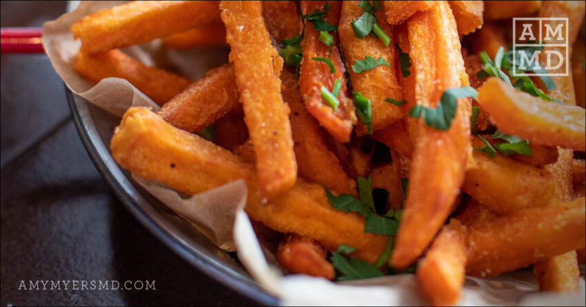 Japanese Sweet Potato Fries