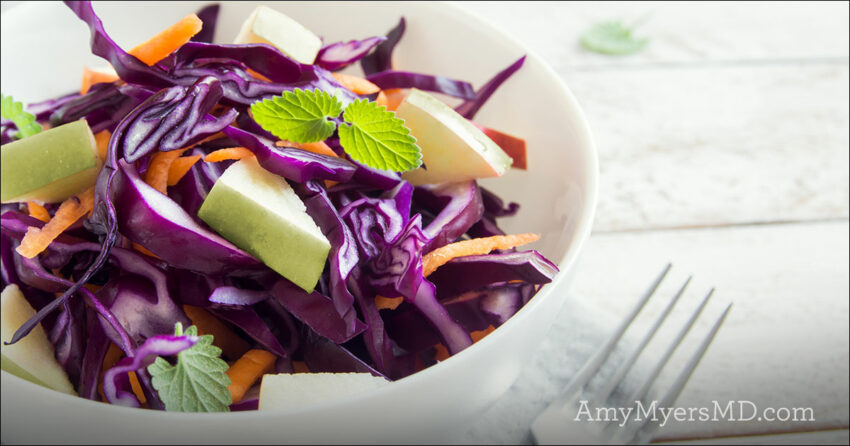 Green Apple and Cabbage Slaw