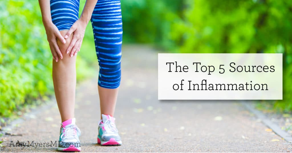 top sources of inflammation