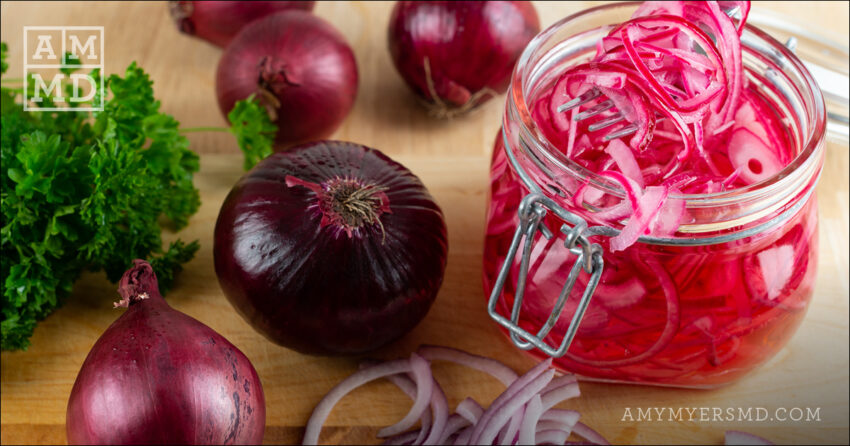 Quick Pickled Onions