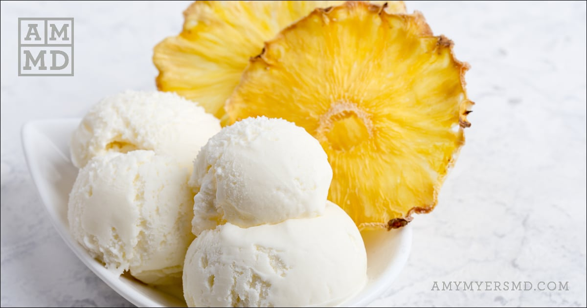 Piña Colada Coconut Ice Cream