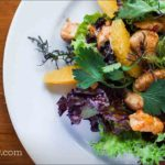 Sesame Chicken Mandarin Salad
