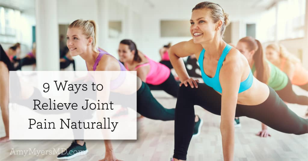 relieve joint pain naturally