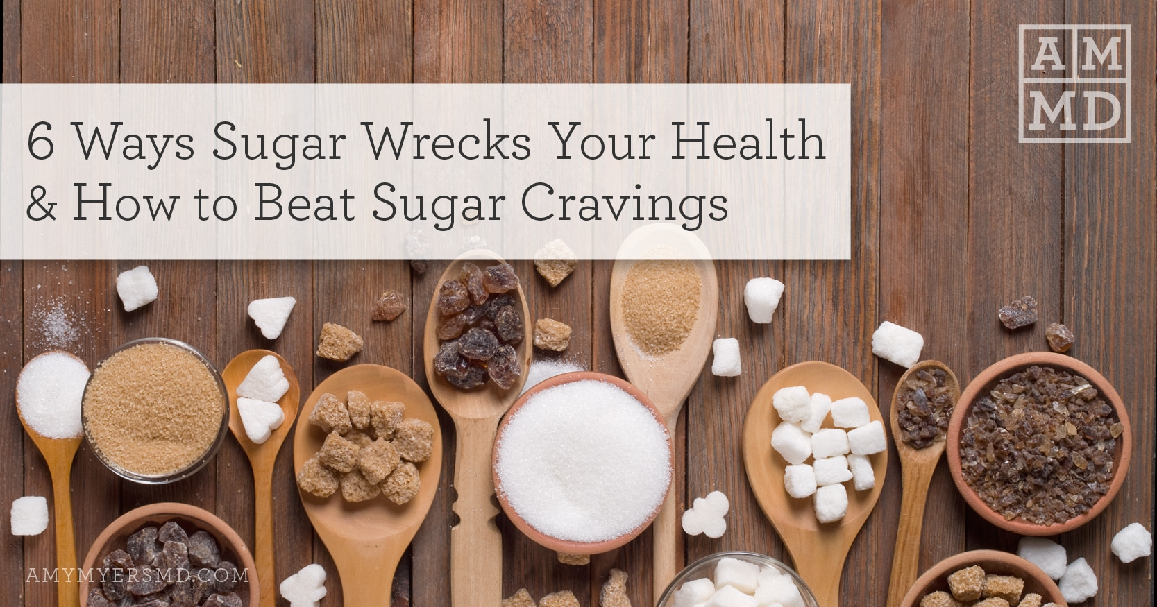 Beat Sugar Cravings - Featured Image - Amy Myers MD
