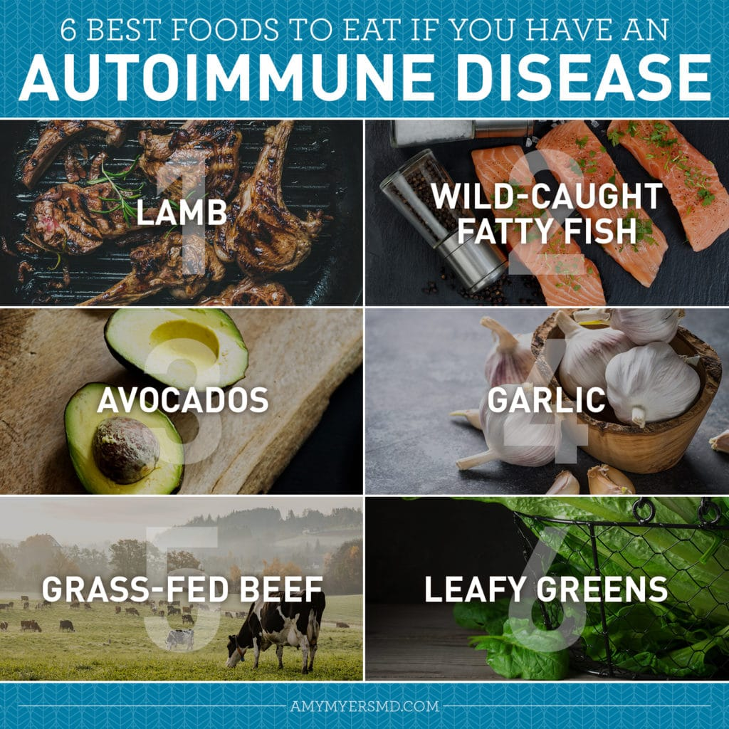 6 Best Foods for an Autoimmune Disease Diet - Featured Image - Amy Myers MD®