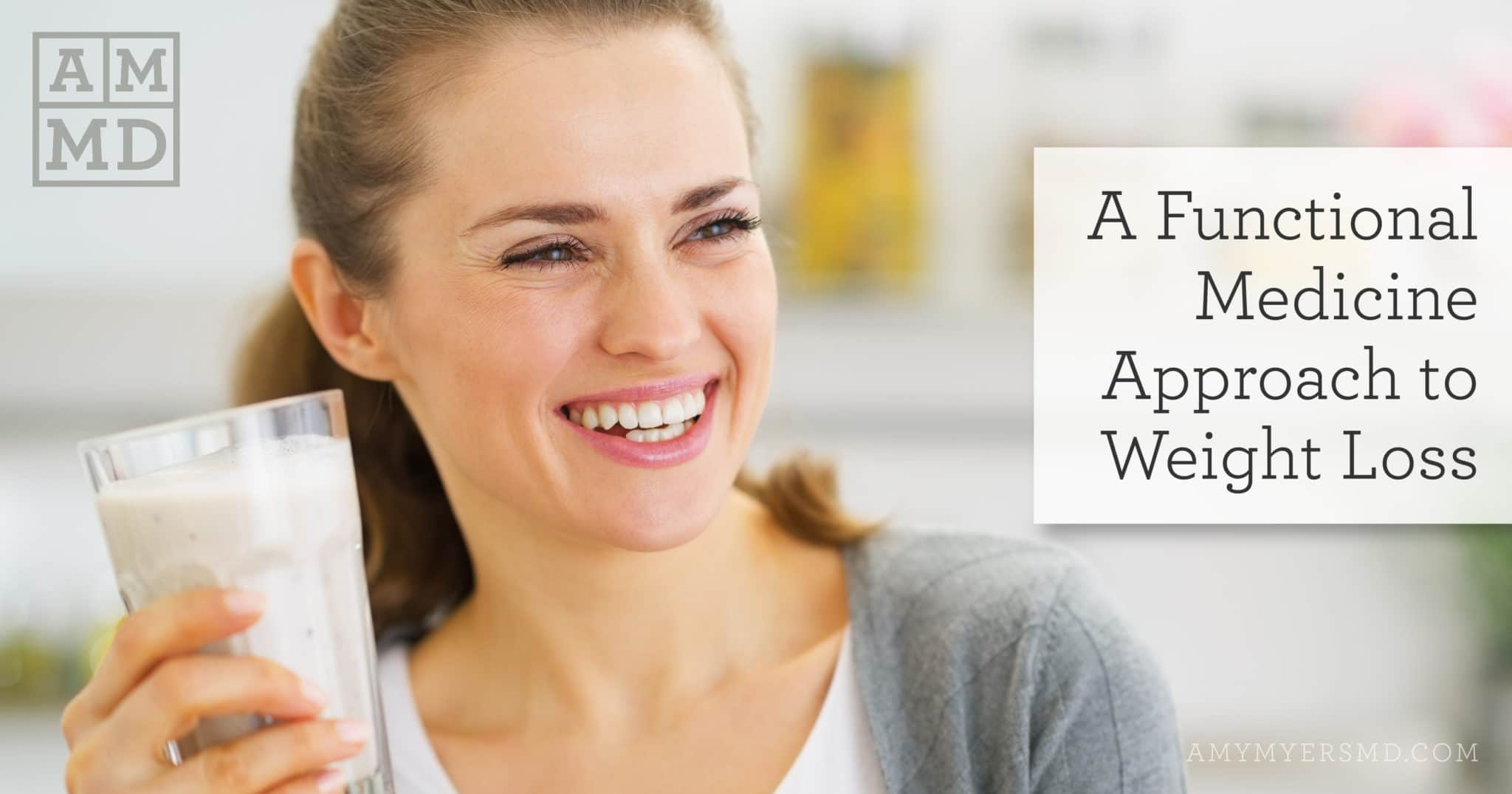 A Functional Medicine Approach to Weight Loss - A Woman Smiling - Featured Image - Amy Myers MD