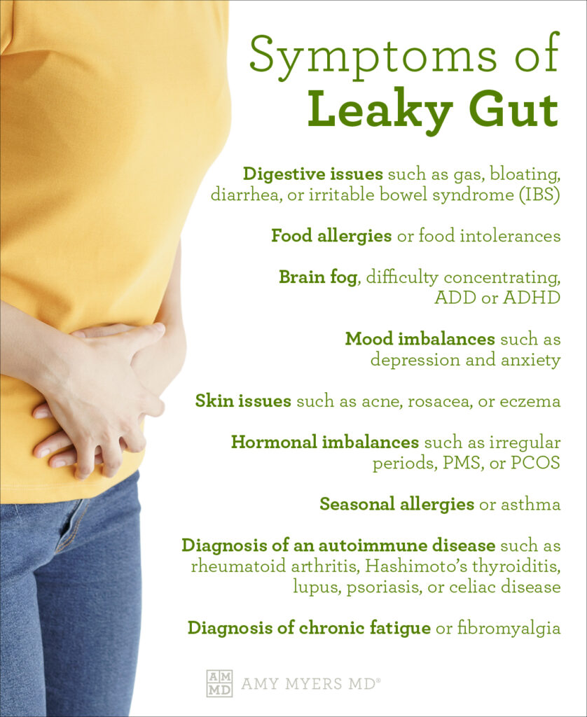 Symptoms of Leaky Gut and How to Heal - Amy Myers MD®
