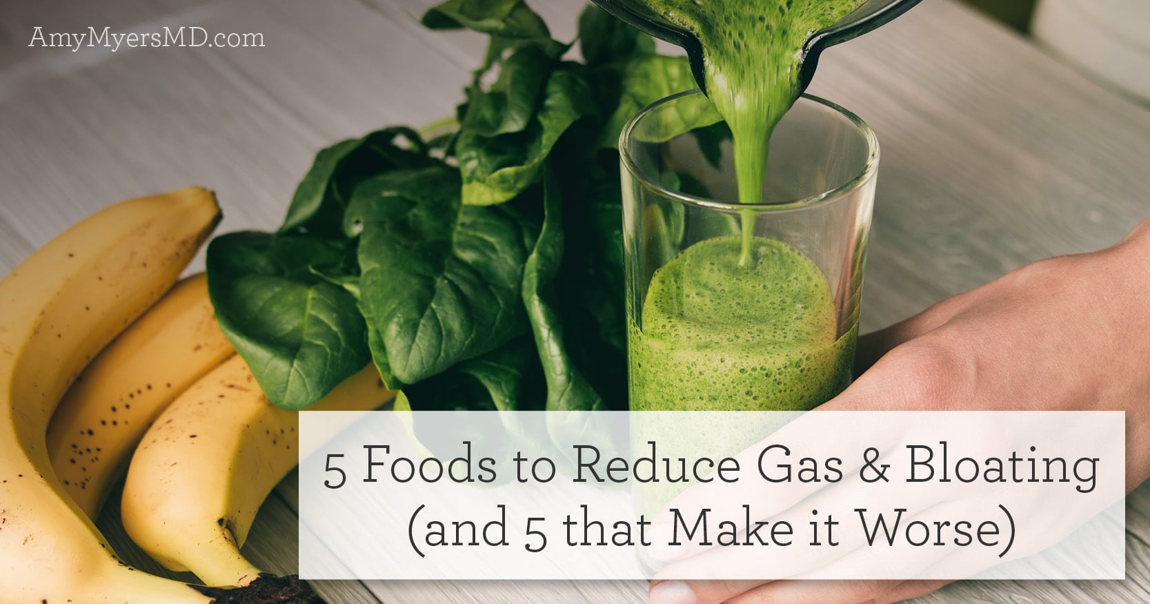 5 foods to reduce gas and bloating