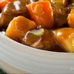 Slow Cooker Bison and Vegetable Stew