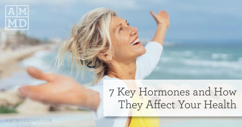 7 Key Hormones and How They Affect Your Health - A Woman Enjoying the Beach - Featured Image - Amy Myers MD