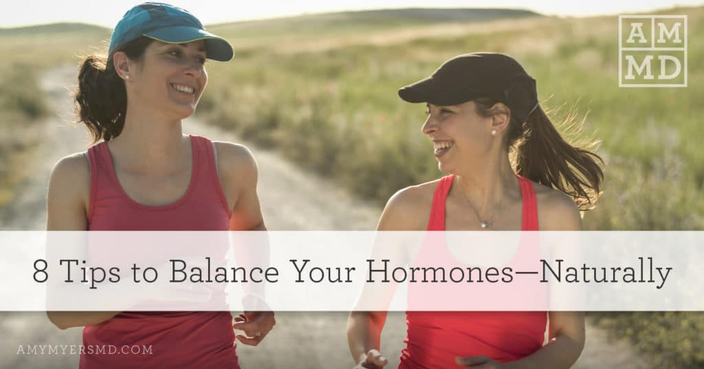 Balance Your Hormones—Naturally - Two Women Jogging - Featured Image - Amy Myers MD