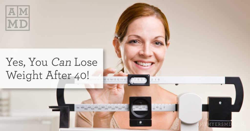 Yes, You Can Lose Weight After 40!