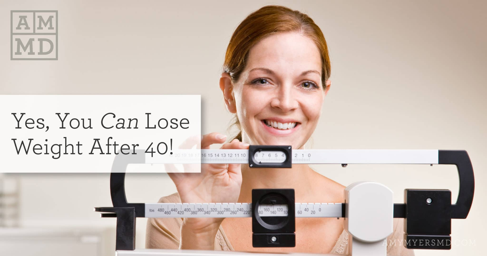 you can lose weight after 40