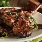 Lamb Chops With Lemon-Thyme Vinaigrette