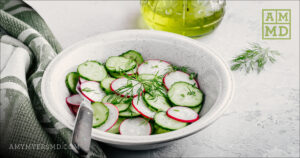 Shaved Radish Cucumber Salad