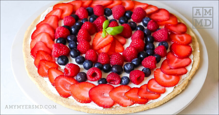 Gluten-Free, Dairy-Free Fruit Pizza