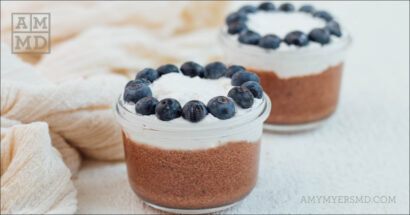 Coconut Cream Vegan Chocolate Mousse