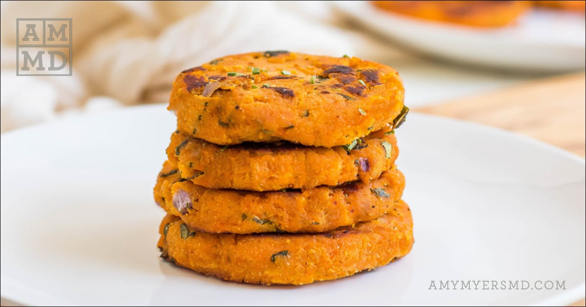 Sweet Potato Fritters Amy Myers Md