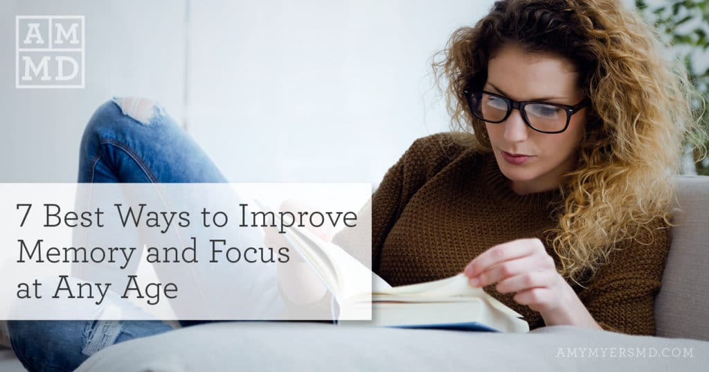 improve memory and focus
