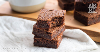 Mocha Protein Brownies