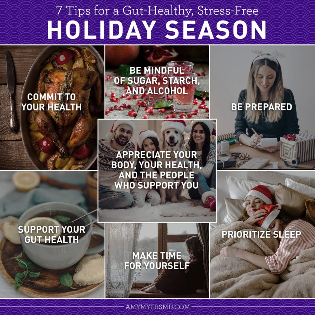 7 Tips for Stress Free Holidays - Infographic - Infographic - Amy Myers MD®