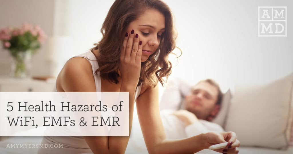 5 Health Hazards of WiFi, EMFs & EMR
