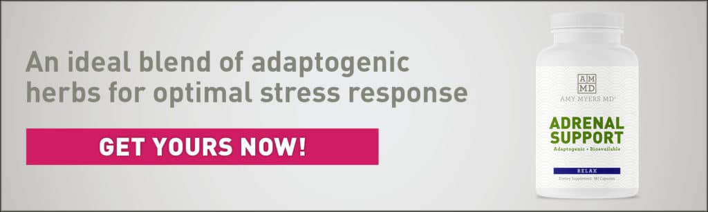 Adrenal Support Bottle - Promo Image - Amy Myers MD