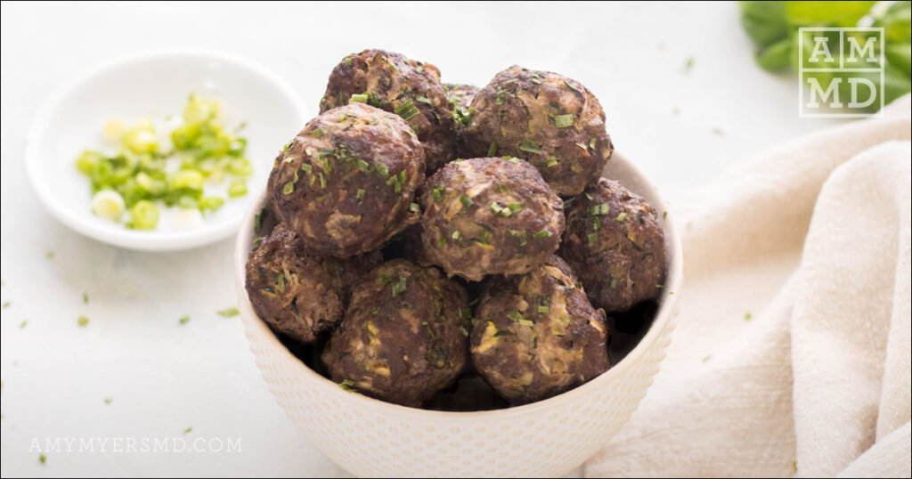 Healthy Superfood Meatballs
