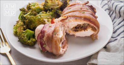 Bacon-Wrapped Stuffed Chicken