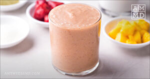 Strawberry Mango Tropical Smoothie