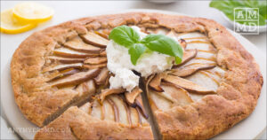 Perfectly Paleo Rustic Pear Tart
