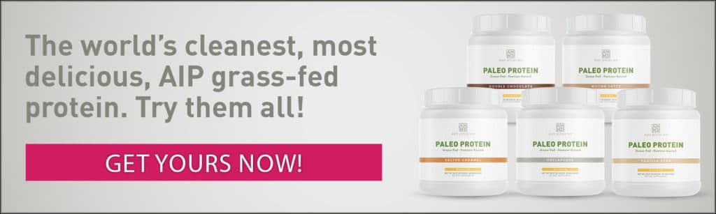 AIP Grass-fed Paleo Protein - Promo Image - Amy Myers MD