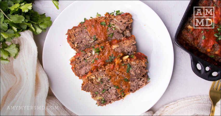 The Greatest Gluten-Free Meatloaf