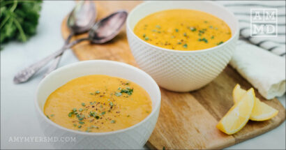 Easiest Creamy Vegetable Soup
