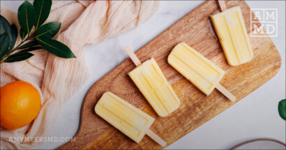 Paleo Orange Cream Pops