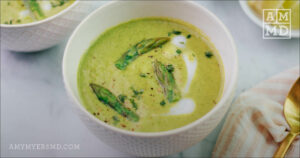 Paleo Cream of Asparagus Soup