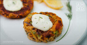 Paleo Baked Salmon Patties