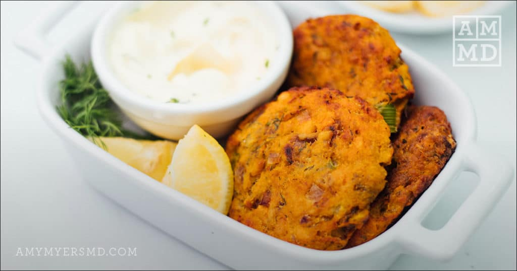 baked salmon patties