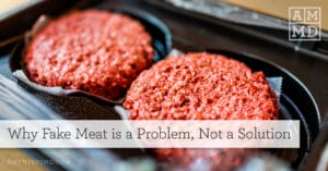 Why Fake Meat Is a Problem, Not a Solution