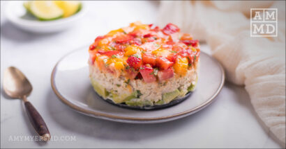 Salmon Salad Stack