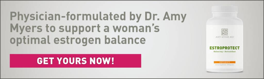 Estrogen Dominance Supplement - Estroprotect - Infographic - Amy Myers MD