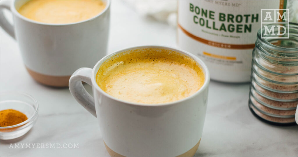Golden Milk Bone Broth Latte