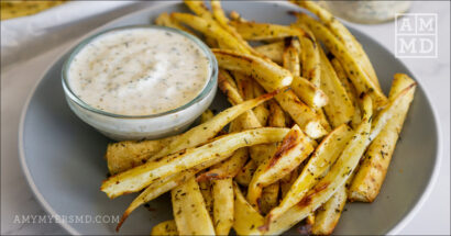 Ranch Parsnip Fries