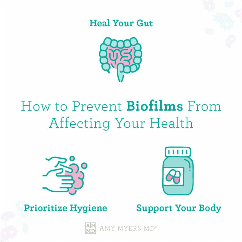 How to Prevent Biofims From Affecting Your Health - Infographic - Amy Myers MD®